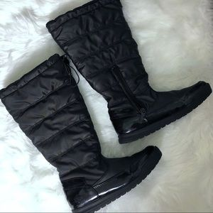 TOTES BLACK BOOTS SIZE 7M